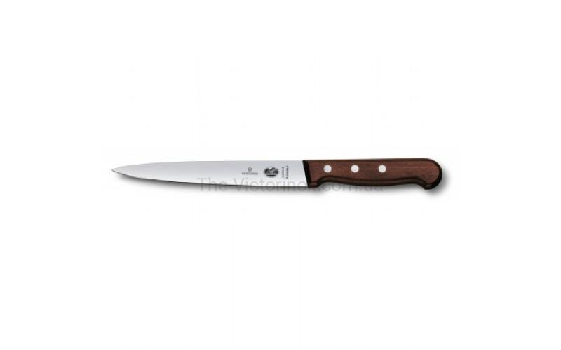 Кухонный нож Victorinox Rosewood Filleting Flexible 5.3700.18