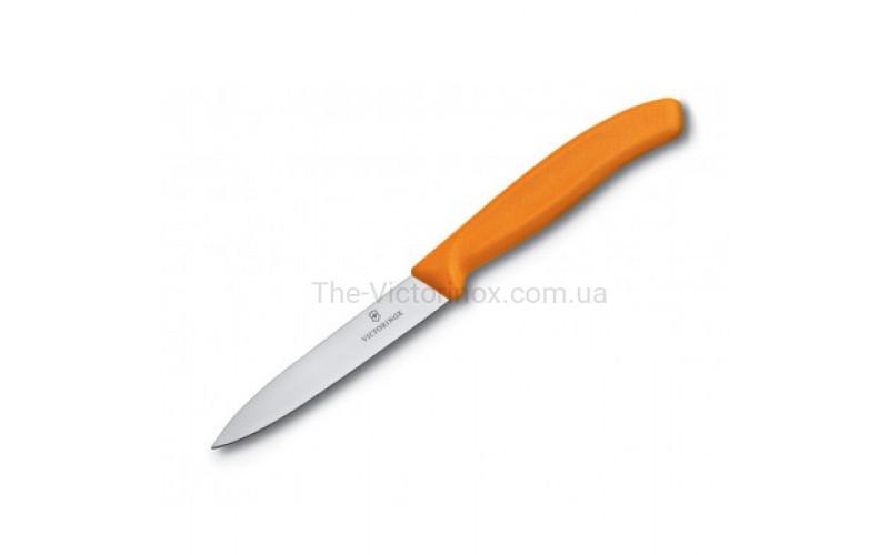 Кухонный нож Victorinox 6.7706.L119, 10 см., оранжевый