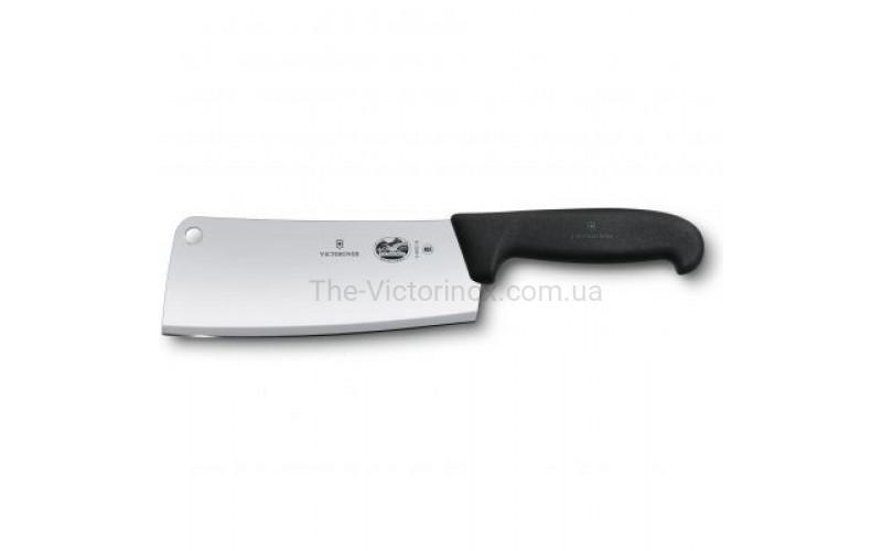 Нож-топорик кухонный Victorinox Fibrox Cleaver 18 см (5.4003.18)