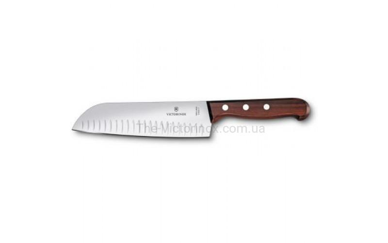 Кухонный нож Victorinox Rosewood Santoku 6.8520.17G
