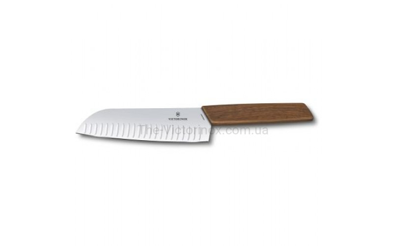 Кухонный нож Victorinox Swiss Modern Santoku 6.9050.17KG