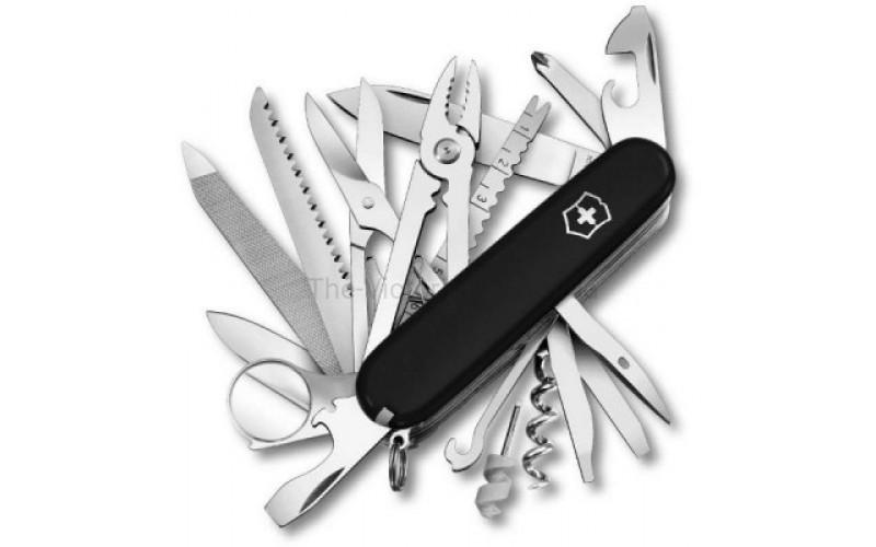 Нож Victorinox SwissChamp 1.6795.3 черный