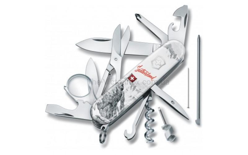 Складной нож Victorinox EXPLORER Swiss Spirit SE 1.6705.7L20