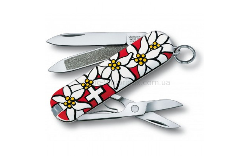 Швейцарский нож Victorinox Classic Edelweiss 0.6203.840