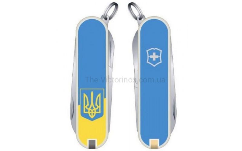 Складной нож Victorinox CLASSIC SD UKRAINE 0.6223.7R3