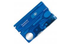 Набор Victorinox Swisscard Lite,синий прозр. 0.7322.Т2