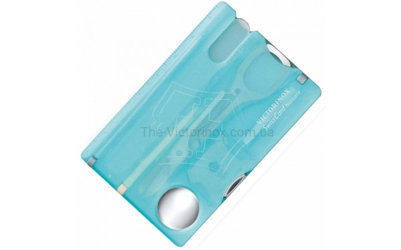Набор Victorinox Swisscard Nailcare, голубой 0.7240.Т21